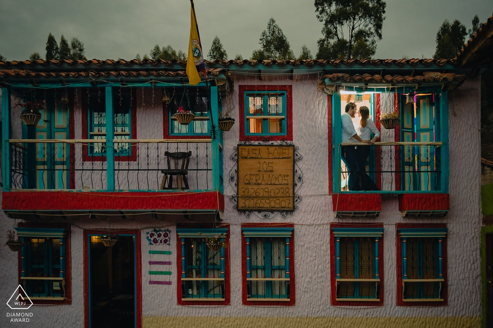 Fotógrafo de bodas - Camilo Nivia - Colombia - Premios - WPJA - Diamond Award Pueblito Boyacense